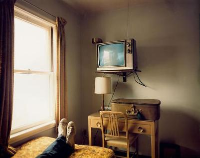 Foto: Stephen Shore, Room 125. Idaho, 1973